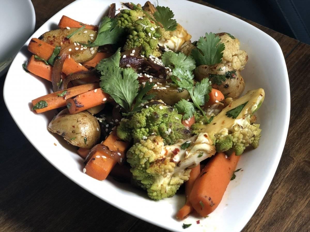 Vegetales orientales