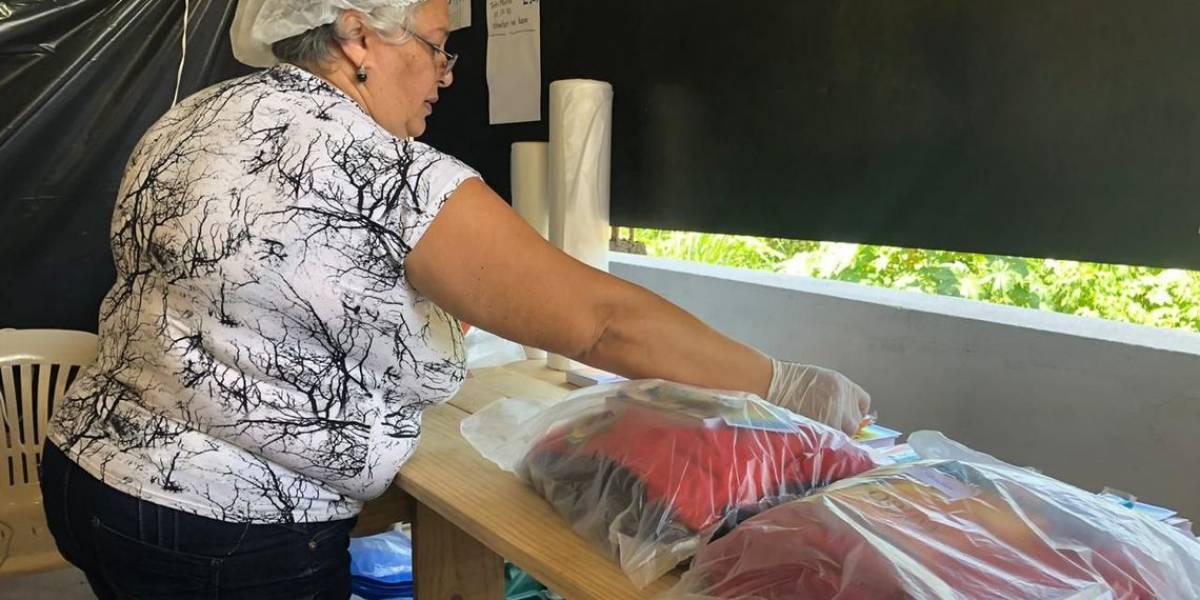 Brumadinho: Igreja vira lavanderia para higienizar fardas de bombeiros