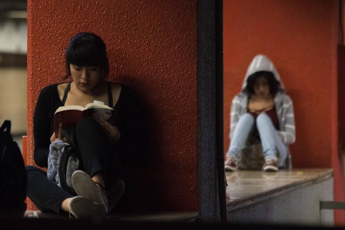 Mujeres en el Metro de la Ciudad de México