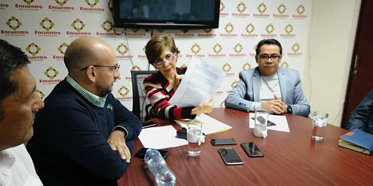 Montenegro denuncia que fue usurpada la imagen y el logo de Encuentro por Guatemala