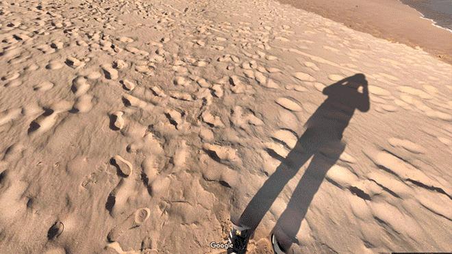 Google Maps hombre invisible