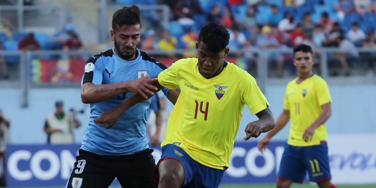Sudamericano Sub20: Uruguay, el talón de Aquiles de Ecuador