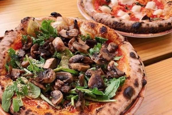 pizza vegana doroteas