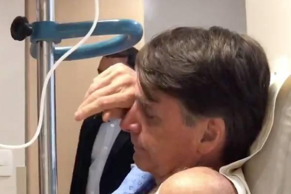 bolsonaro hospital chora