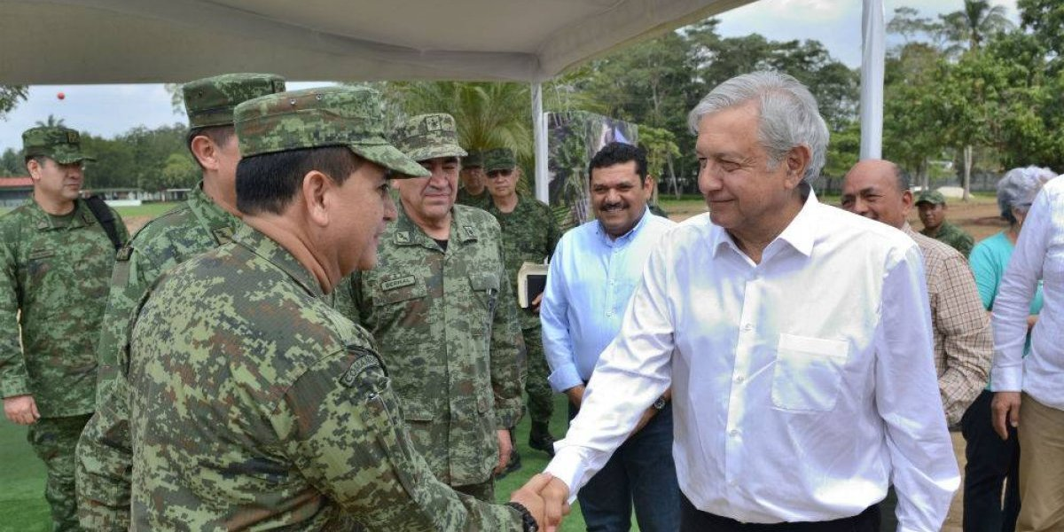 AMLO cuenta con otro equipo de seguridad: el Ejército