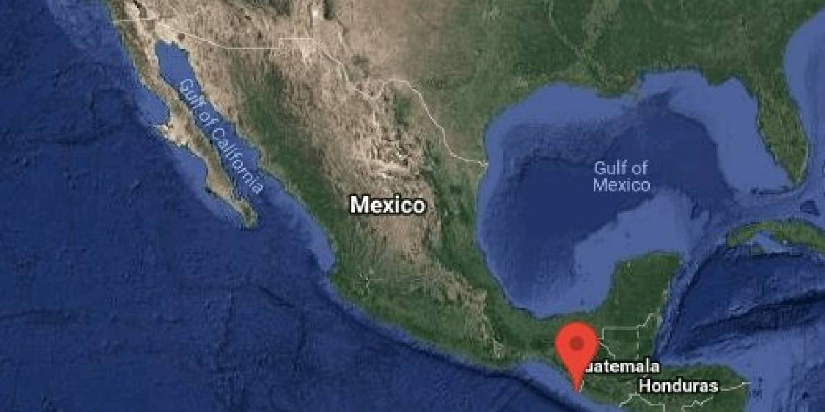 México registra fuerte sismo de 6.6 con epicentro en Chiapas