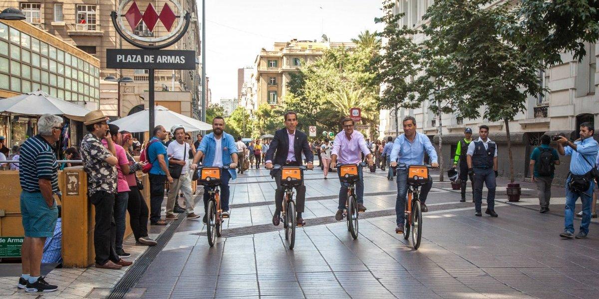 Bike Santiago lanza un renovado sistema de bicicletas y ofrece nuevas facilidades para sus usuarios