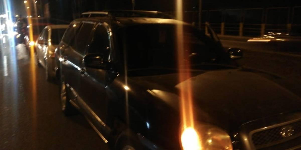 Triple colisión en el Naranjo obstaculiza un carril hacia la Ciudad