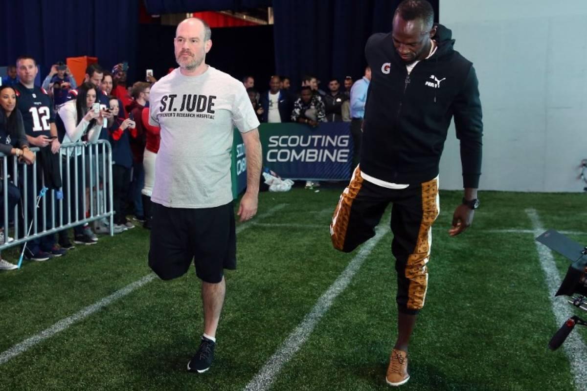 ¡Bolt igualó un récord de la NFL!