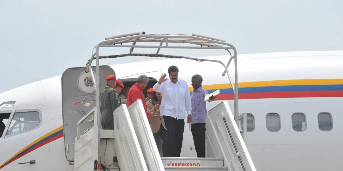 Los aviones que tendría listo Maduro para huir de Venezuela