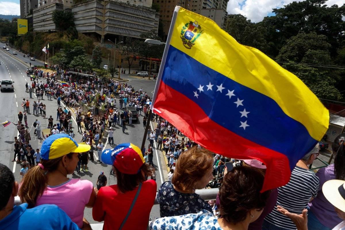 Marchas contra Maduro