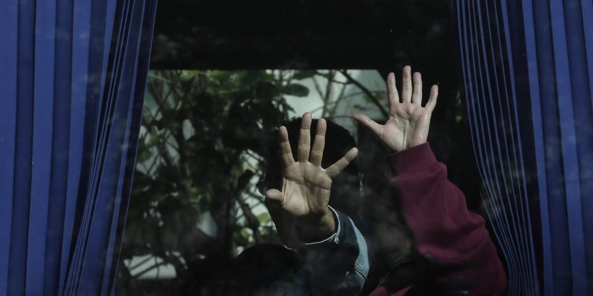 Ecuador: Cuatro autobuses salieron con venezolanos a Caracas