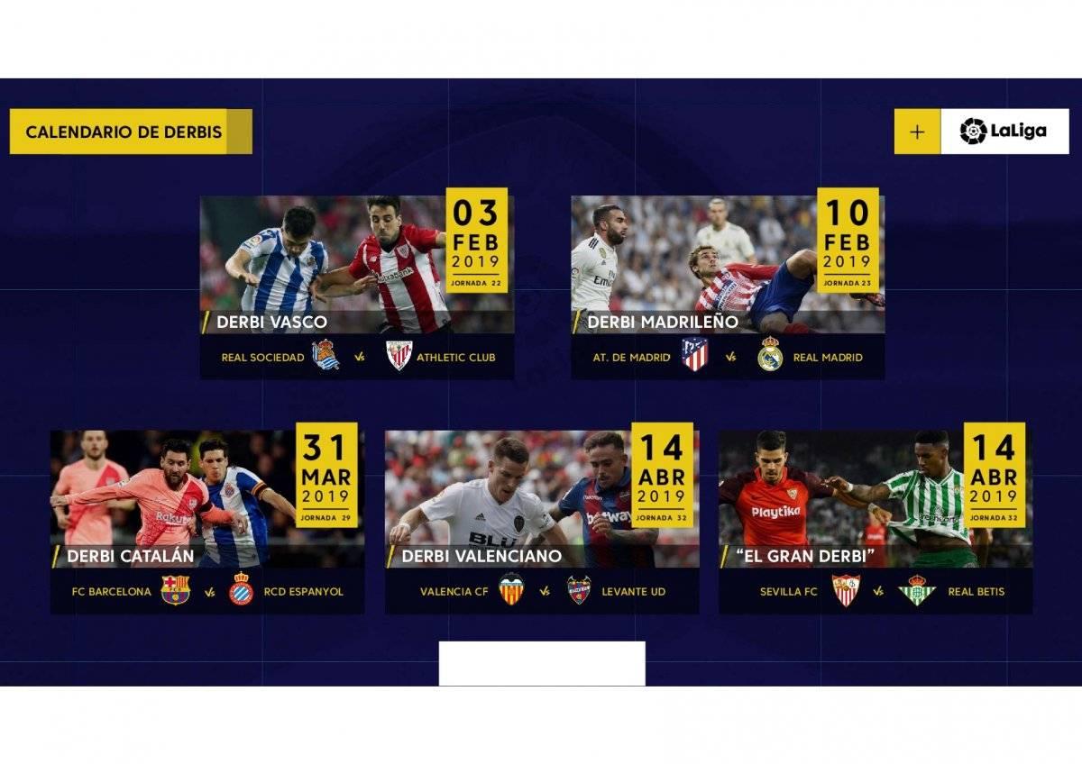 Los Derbis de La Liga, más que partidos de futbol