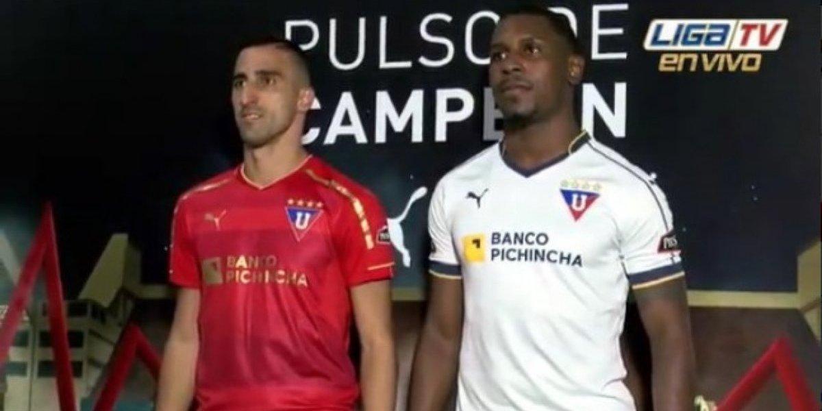 Liga de Quito presentó su camiseta oficial para la temporada 2019
