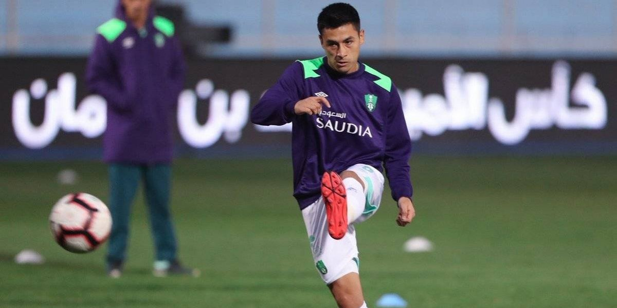 Claudio Baeza tuvo un debut triunfador con el Al-Ahli de Pablo Guede en Arabia Saudita