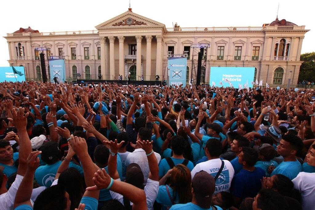 Elecciones presidenciales en El Salvador 2019 AP