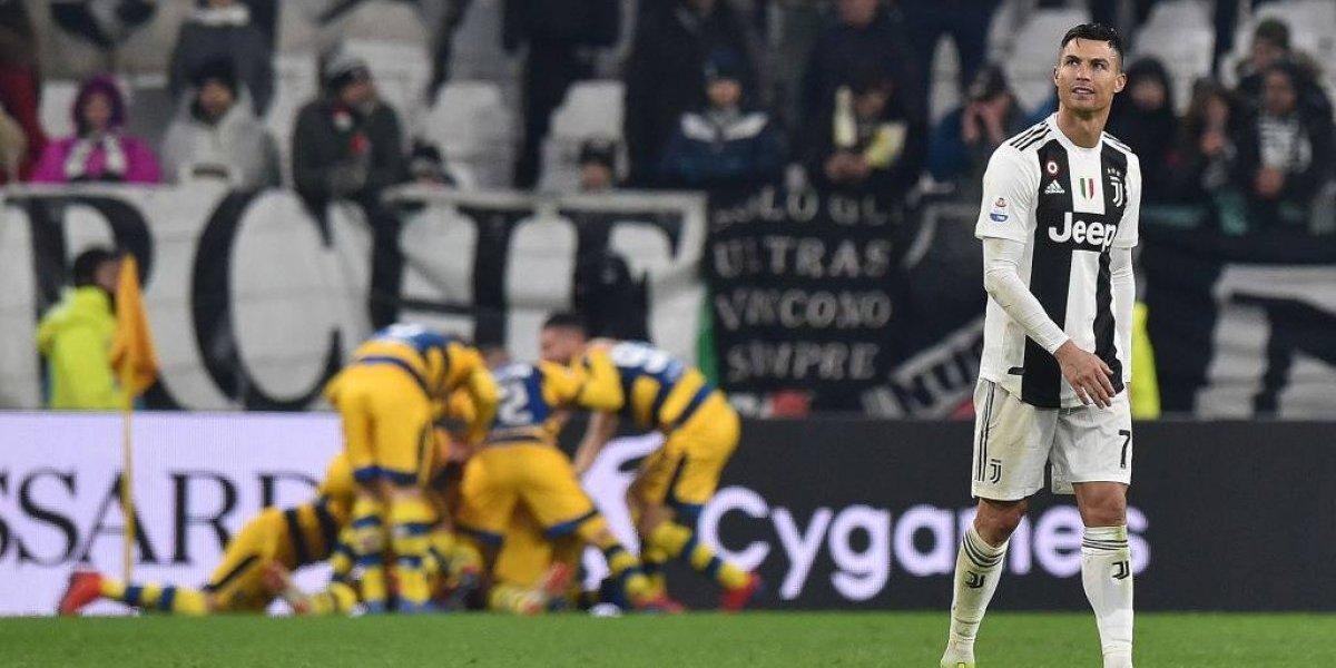 La Juventus sufrió un empate agónico ante el renacido Parma y con doblete de Cristiano Ronaldo