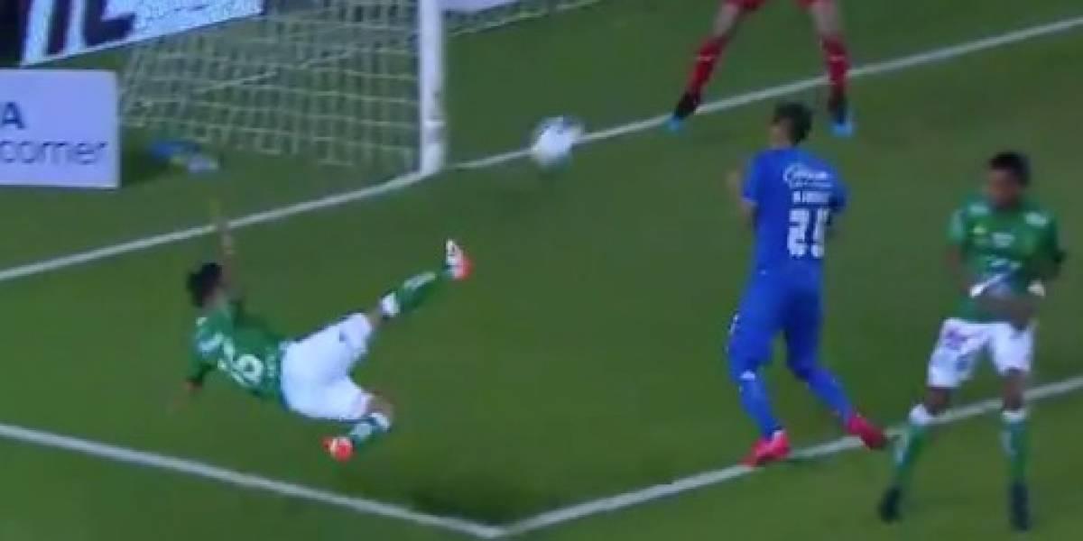 VIDEO: Golazo de Jean Meneses podría ser el mejor del Clausura 2019