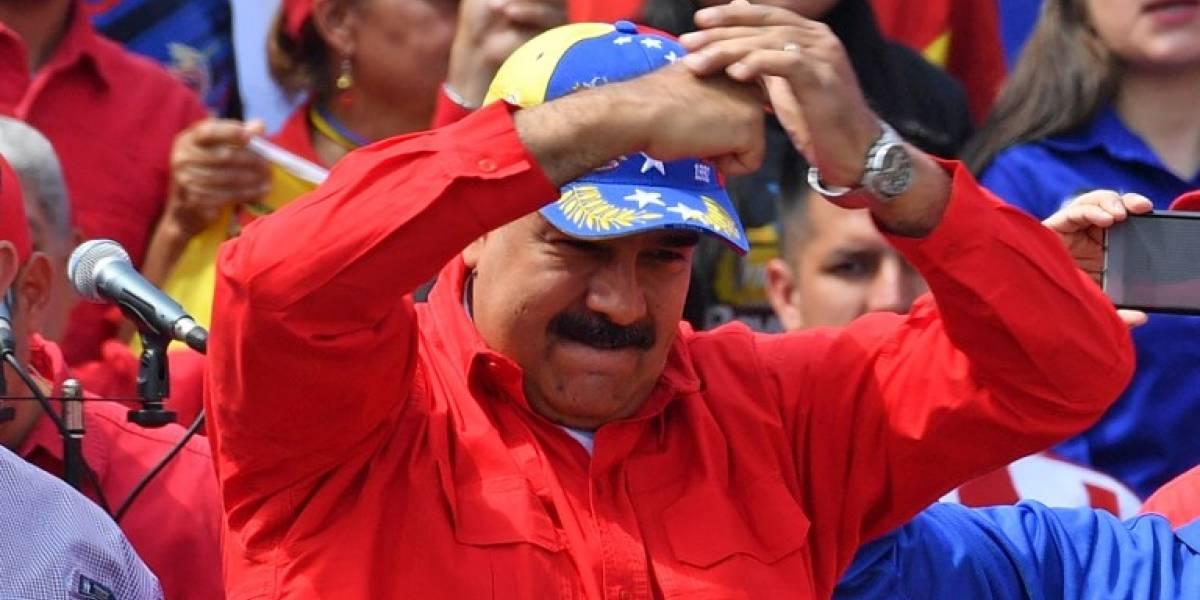 Maduro reapareció en plaza pública tras seis meses de ausencia