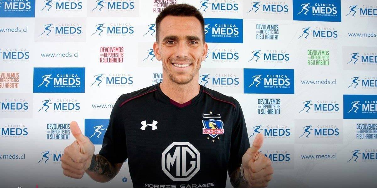 Pablo Mouche pasó los exámenes médicos y está listo para firmar por Colo Colo