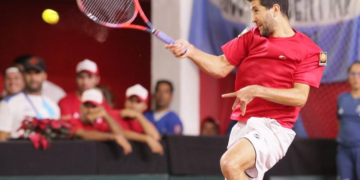 Así vivimos el disputado partido de dobles que animaron Chile y Austria en Copa Davis