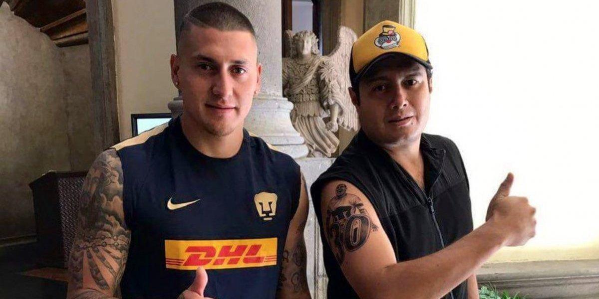 Fan que se tatuó a Nico Castillo responde tras fichaje con América
