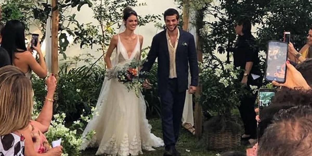 Para poucos! Chay Suede e Laura Neiva se casam em cerimônia íntima