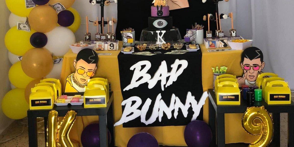 Facebook: niño celebra cumpleaños inspirado en Bad Bunny | Redes Sociales