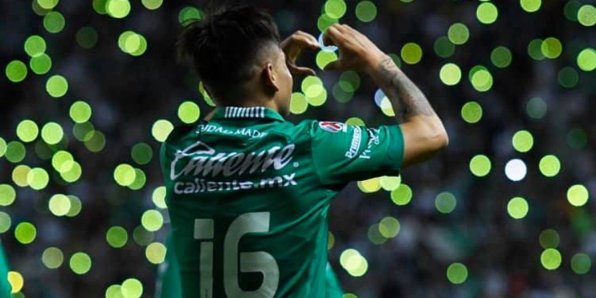 Jean Meneses anotó un golazo y fue figura en la victoria de León sobre Cruz Azul