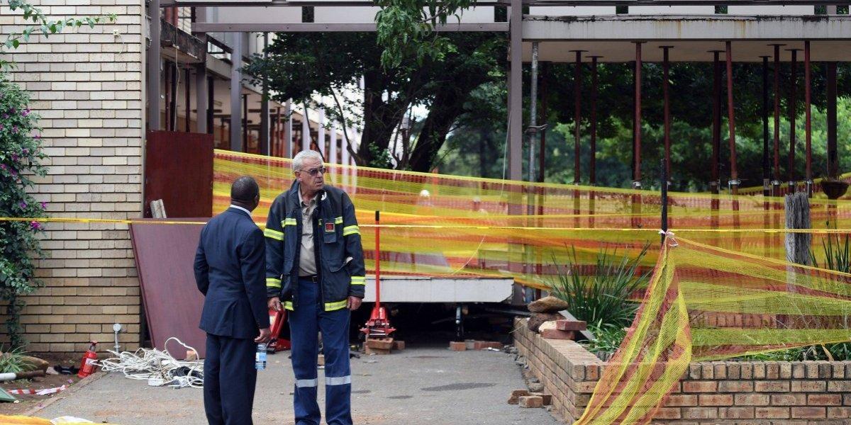 Sudáfrica: 4 menores fallecidos por derrumbe en una escuela