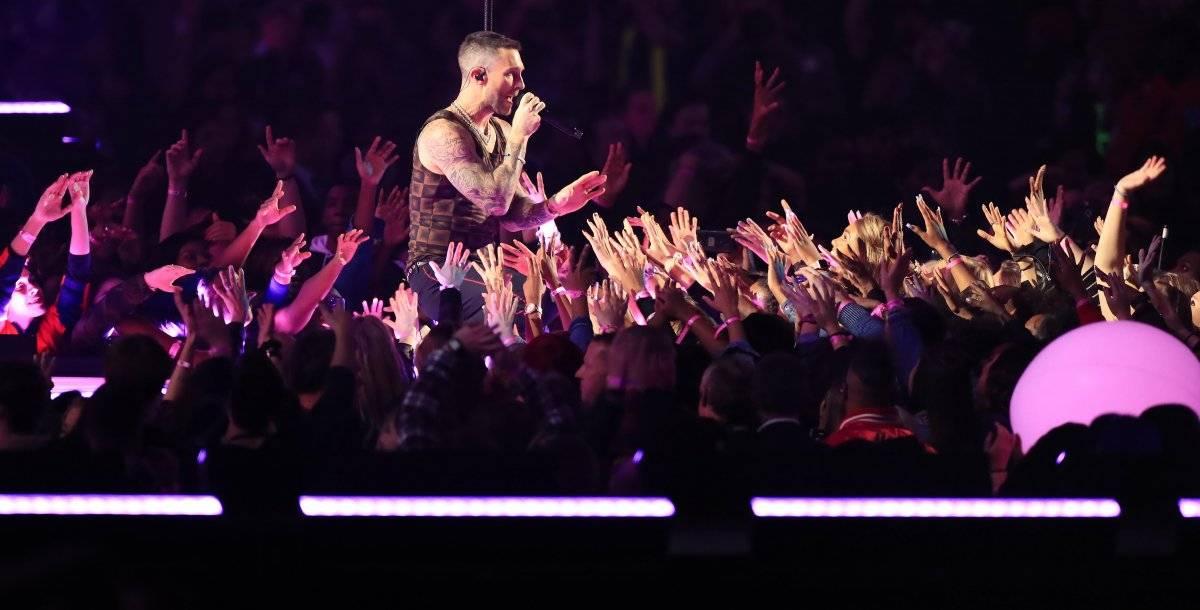 Adam Levine de Maroon 5 EFE