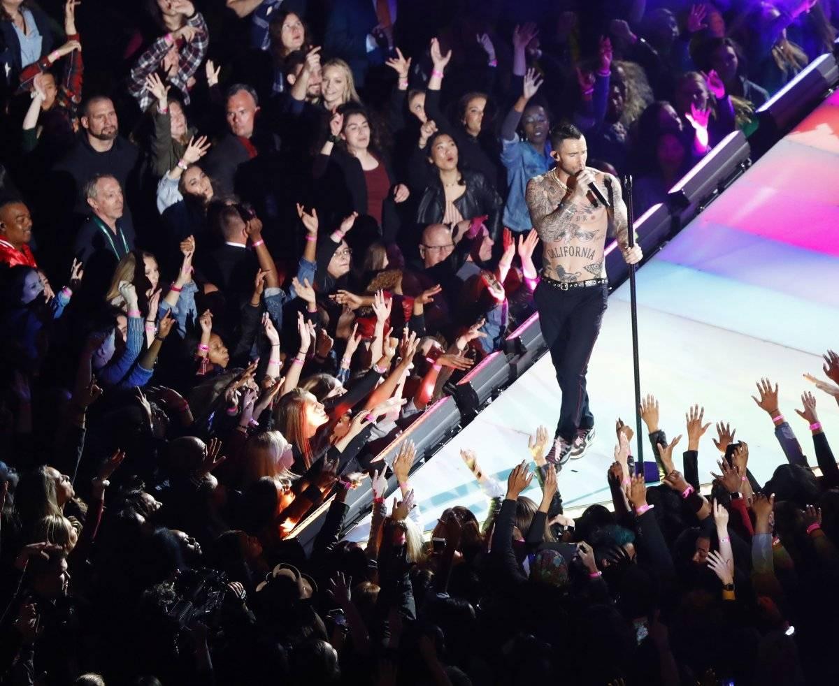 Adam Levine, de Maroon 5 EFE