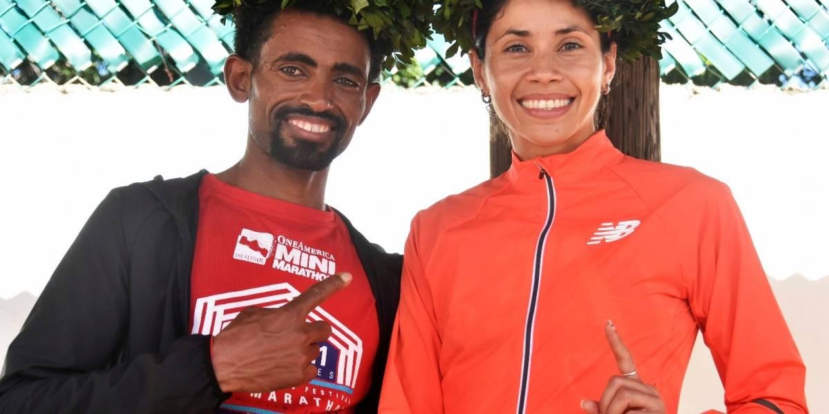 Beverly Ramos gana el Medio Maratón de San Blas