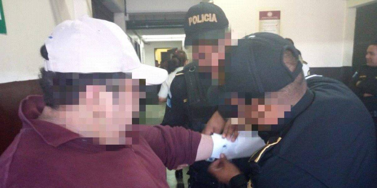 """Alias """"el Loco"""", presunto asesino, es capturado en Mixco"""
