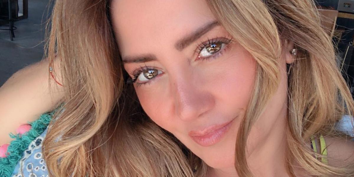 Andrea Legarreta revela romance con compañero de 'Hoy'