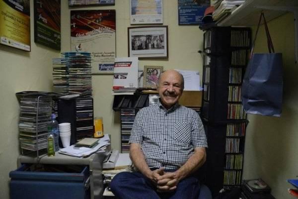 Ángel Figueroa, locutor