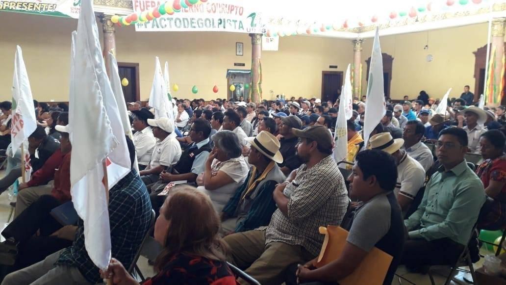 Asamblea URNG-Maíz