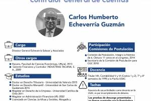Candidatos contralor
