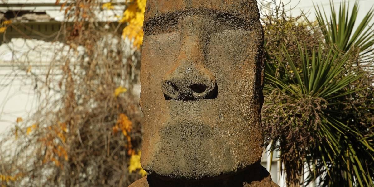 Moai del Museo Nacional de Historia Natural volverá a Rapa Nui