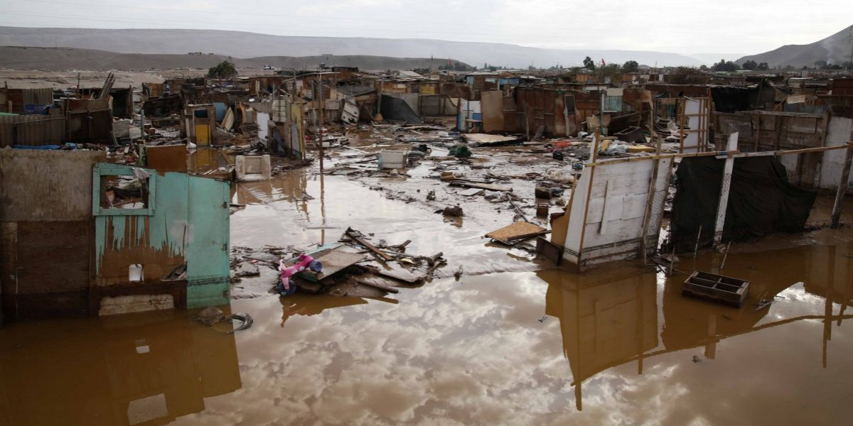 Hasta 25 milímetros de lluvia: Onemi mantiene alerta Meteorológica en el Norte Grande para este domingo y lunes