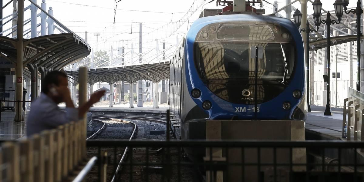Presentan proyecto de tren a Valparaíso con una inversión de US$ 2.400 millones