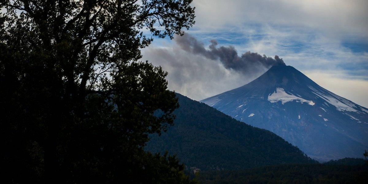 Complejo Volcánico Planchón Peteroa registró aumento en su actividad volcánica
