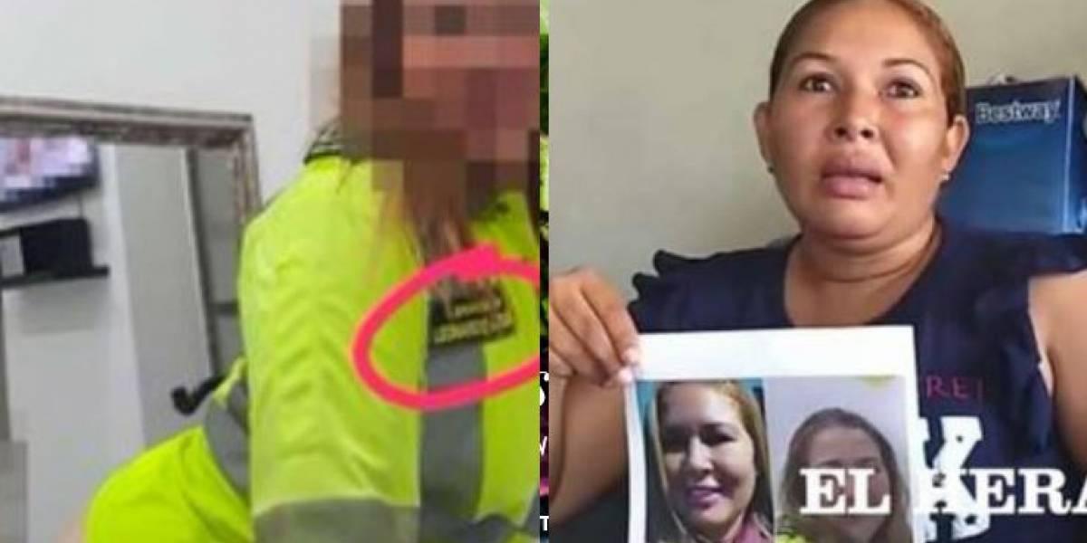 Habla mujer señalada de ser protagonista de fotos íntimas con uniforme de policía