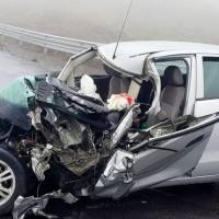 Tres heridos en accidente de tránsito en la vía Pifo-Papallacta