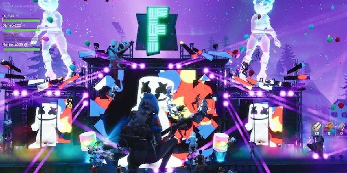 ¡Increíble! concierto de Marshmello por medio de Fortnite