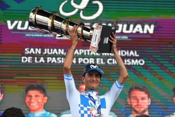 Anacona se coronó campeón de la Vuelta a San Juan