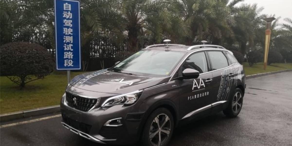 Chongqing es el campo de pruebas de los autos autónomos de PSA