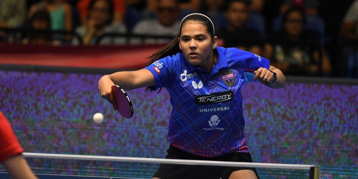 Adriana Díaz clasifica a finales de Copa ITTF y asegura boleto a Copa Mundial