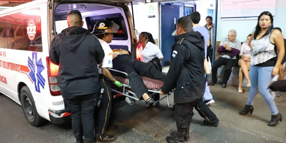 Ataques armados se registran en la zona 6, zona 8 y Boca del Monte
