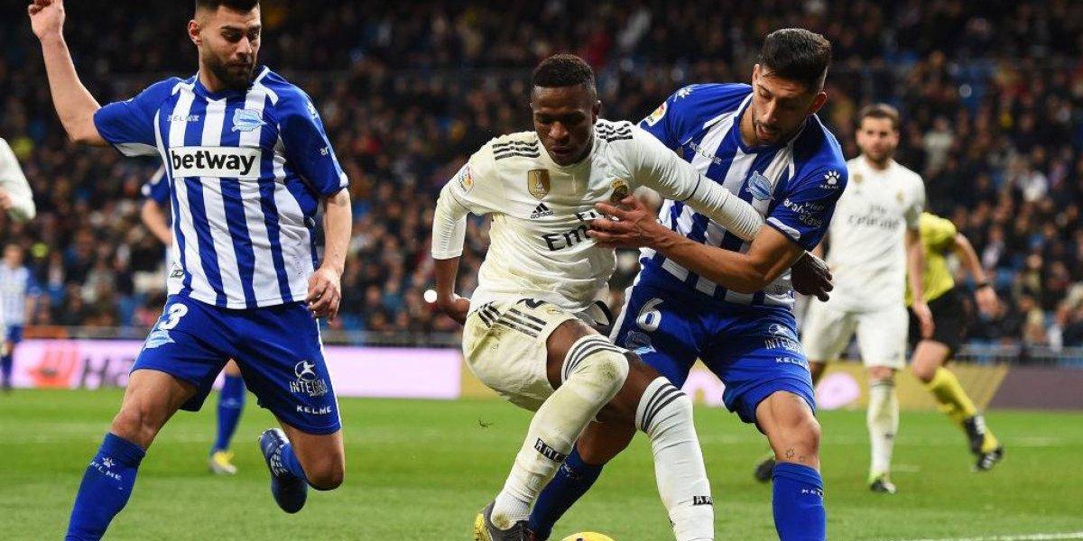 Real Madrid no tuvo grandes problemas para derrotar al Alavés de Guillermo Maripán